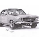 1972 Holden LJ Torana GTR-XU1 by Joseph Colella