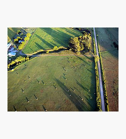 Lockyer Valley at 1700 Feet 2 Photographic Print