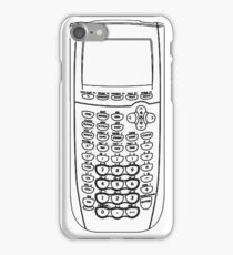 TI Calculator - Black iPhone Case/Skin