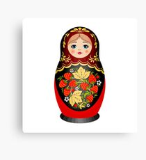 Doll Canvas Print