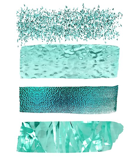 """The Texture Of Teal And Turquoise: """"Teal And Turquoise Textures"""" Posters By Peggieprints"""