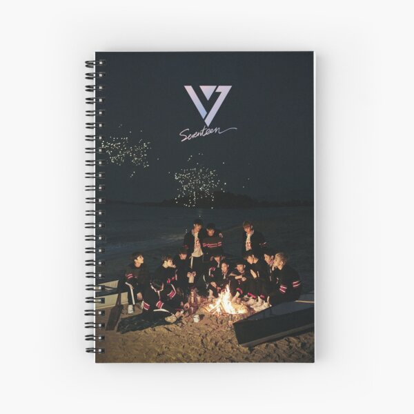 going seventeen - seventeen Spiral Notebook