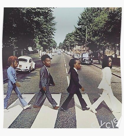 Migos Abbey Road Art Poster