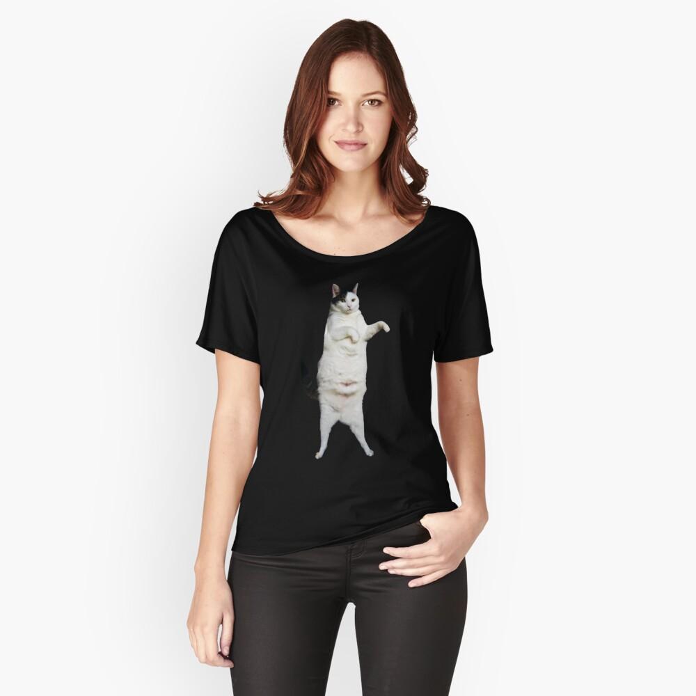 Kitty Cat Tanz Loose Fit T-Shirt