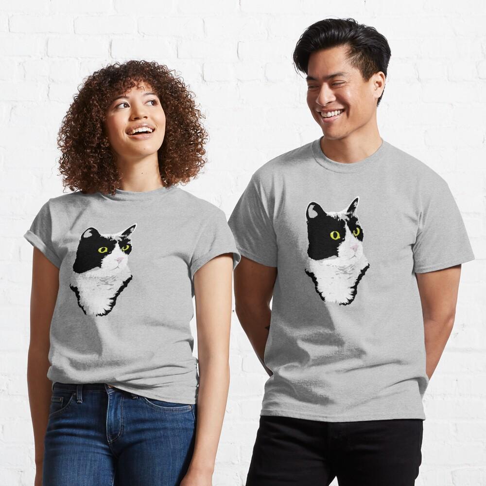 Regal Tuxedo Kitty Classic T-Shirt