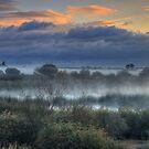 Mystic Sunrise by Sue  Cullumber