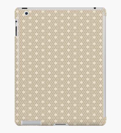 Taupe Snowflake iPad Case/Skin