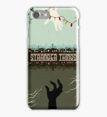 stranger things tv series  iPhone Case/Skin