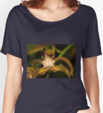 Orchid Macro Women's Relaxed Fit T-Shirt