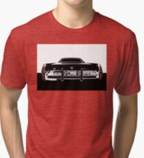1973 Cadillac Fleetwood - High contrast Tri-blend T-Shirt