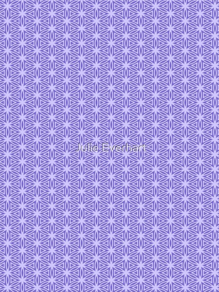 Periwinkle Snowflake by julev69