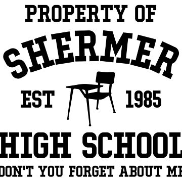 The Breakfast Club - Shermer High by KisArt