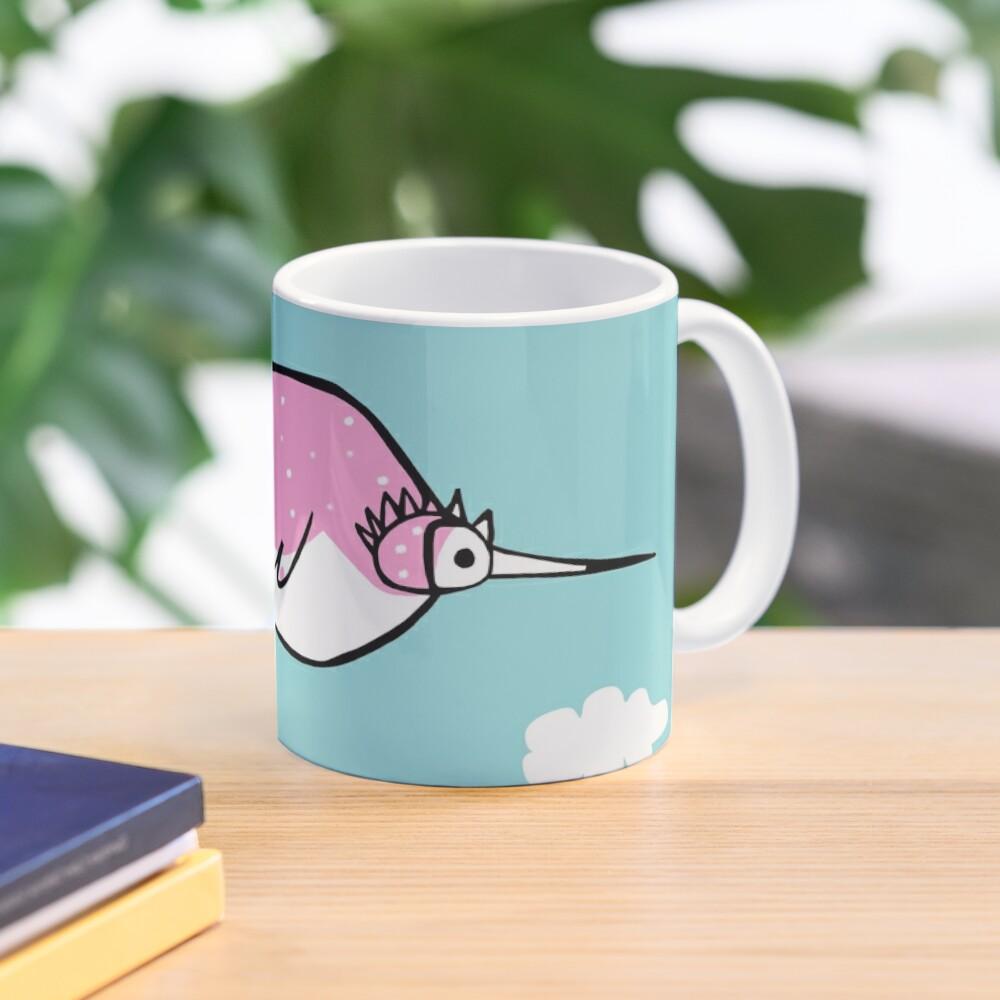 rosetta: the pink bubble bird  Mug