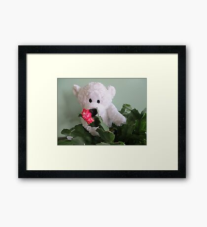 The Christmas Present Framed Print