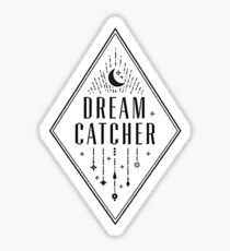 Dream Catcher Logo (White Ver.) Sticker
