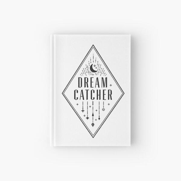 Logotipo de Dream Catcher (White Ver.) Cuaderno de tapa dura