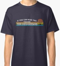 Thank the Phoenicians - Disney EPCOT inspired Classic T-Shirt