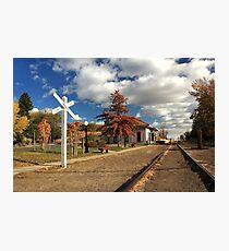 The Susanville Train Depot Photographic Print