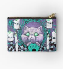 A Seance With Madame Meow-Meow, Gifted Medium Studio Pouch