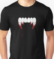 Vampire Teeth Unisex T-Shirt