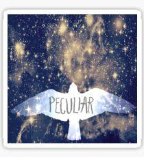 Miss Peregrine's Peculiar Galaxy Sticker