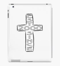 Crucifix - 2000 iPad Case/Skin