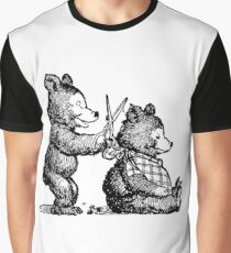 Bear Barber Graphic T-Shirt