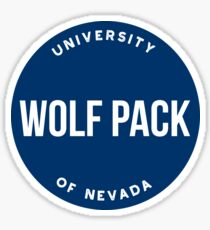 University of Nevada - Style 20 Sticker