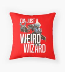 Weird Wizard / Melek, Izzet Paragon Throw Pillow