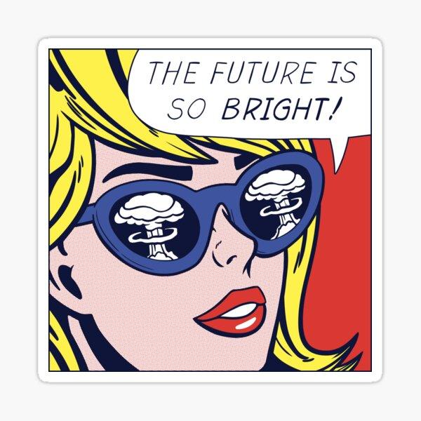 Pop Optimiste Fille Sticker