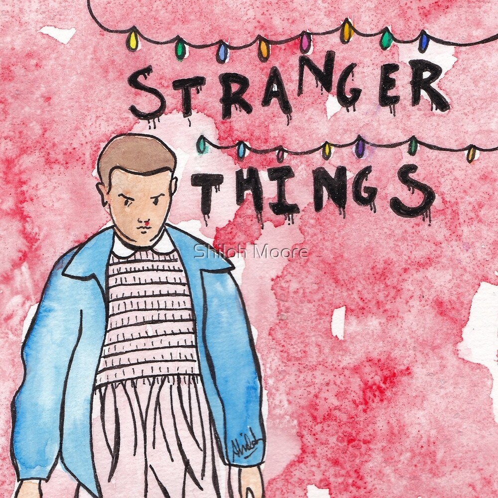 'Eleven - Stranger Things' by Shiloh Moore