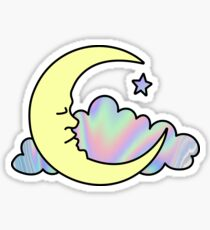 Sweet Little Moon Sticker