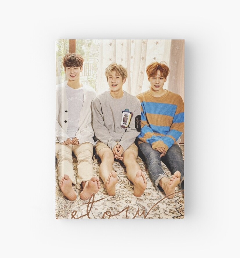 'ASTRO autumn story' Hardcover Journal by yeongwonhikpop
