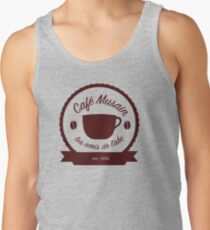Cafe Musain - Maroon Tank Top