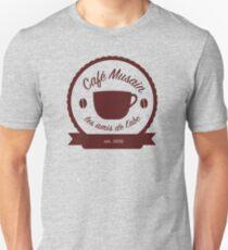 Cafe Musain - Maroon Unisex T-Shirt