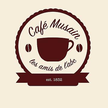 Cafe Musain - Maroon by jojoballz
