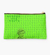 Murder She Wrote Green With Envy Studio Pouch
