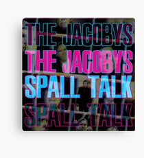 Spall Talk Canvas Print