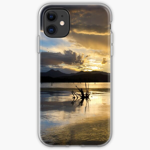 Moogerah Sunset iPhone Soft Case