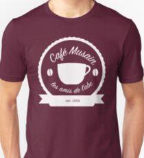 Cafe Musain - White Unisex T-Shirt