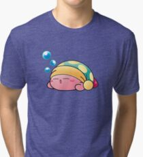Sleeping Kirby Tri-blend T-Shirt