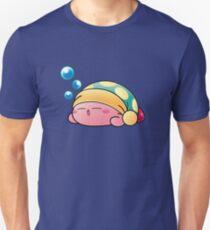 Sleeping Kirby Slim Fit T-Shirt