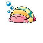 Sleeping Kirby by ehmehli