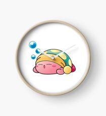 Sleeping Kirby Clock