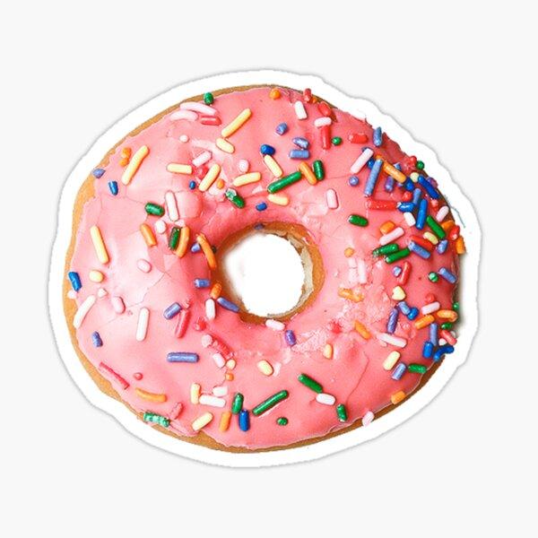 Sprinkled Donut Sticker