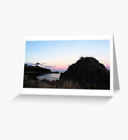 Sunset over Doctors Rocks Greeting Card
