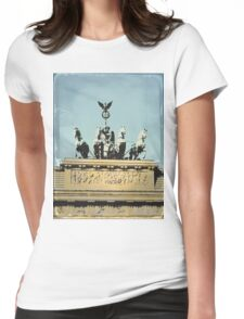 Brandenburg Gate Womens Fitted T-Shirt