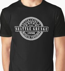 Seattle Grunge Graphic T-Shirt