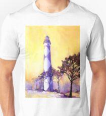 Cape Lookout Lighthouse- North Carolina Unisex T-Shirt