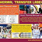 Flexible Packaging Ribbon by Thermal Transfer Labels